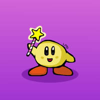 Keeby Found The Star Rod! by LiquidFrogStudios