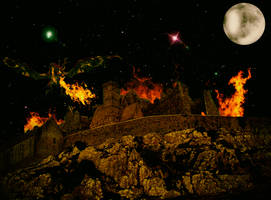 The night of the dragon... Full colors... by Evil2Girls