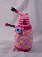 My Little Dalek- Pinkie Pie by Country-Geek-Crochet