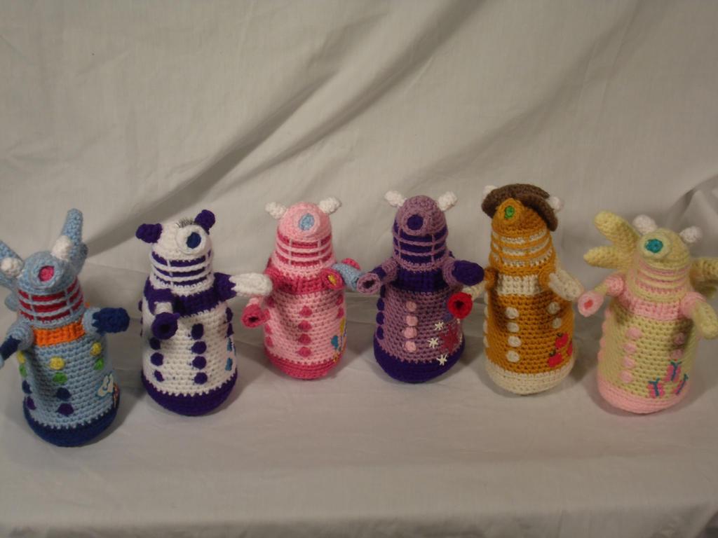 My Little Dalek by Country-Geek-Crochet