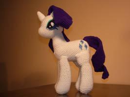 Crochet-My Little Pony- Rarity by Country-Geek-Crochet