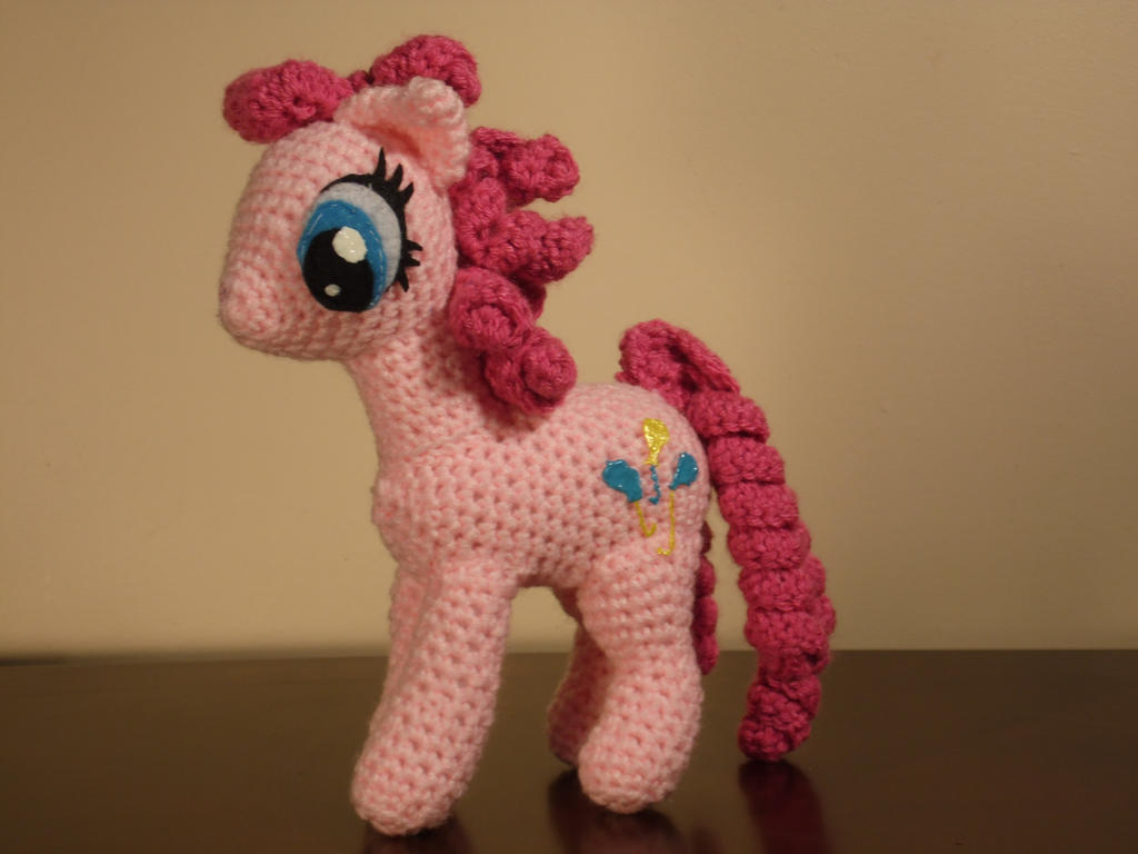 Crochet- My Little Pony- Pinkie Pie by Country-Geek ...