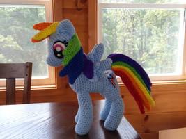 Rainbow Dash by Country-Geek-Crochet