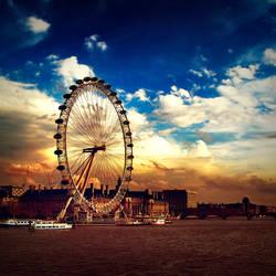 London Eye by sican