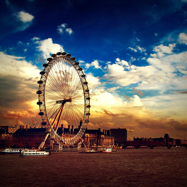 London Eye by sican