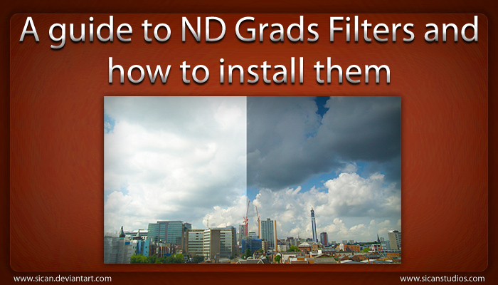 A guide to ND Grads Filters by sican
