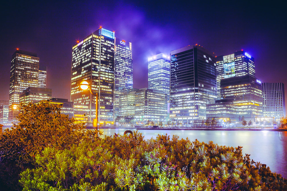 London's Business District by sican