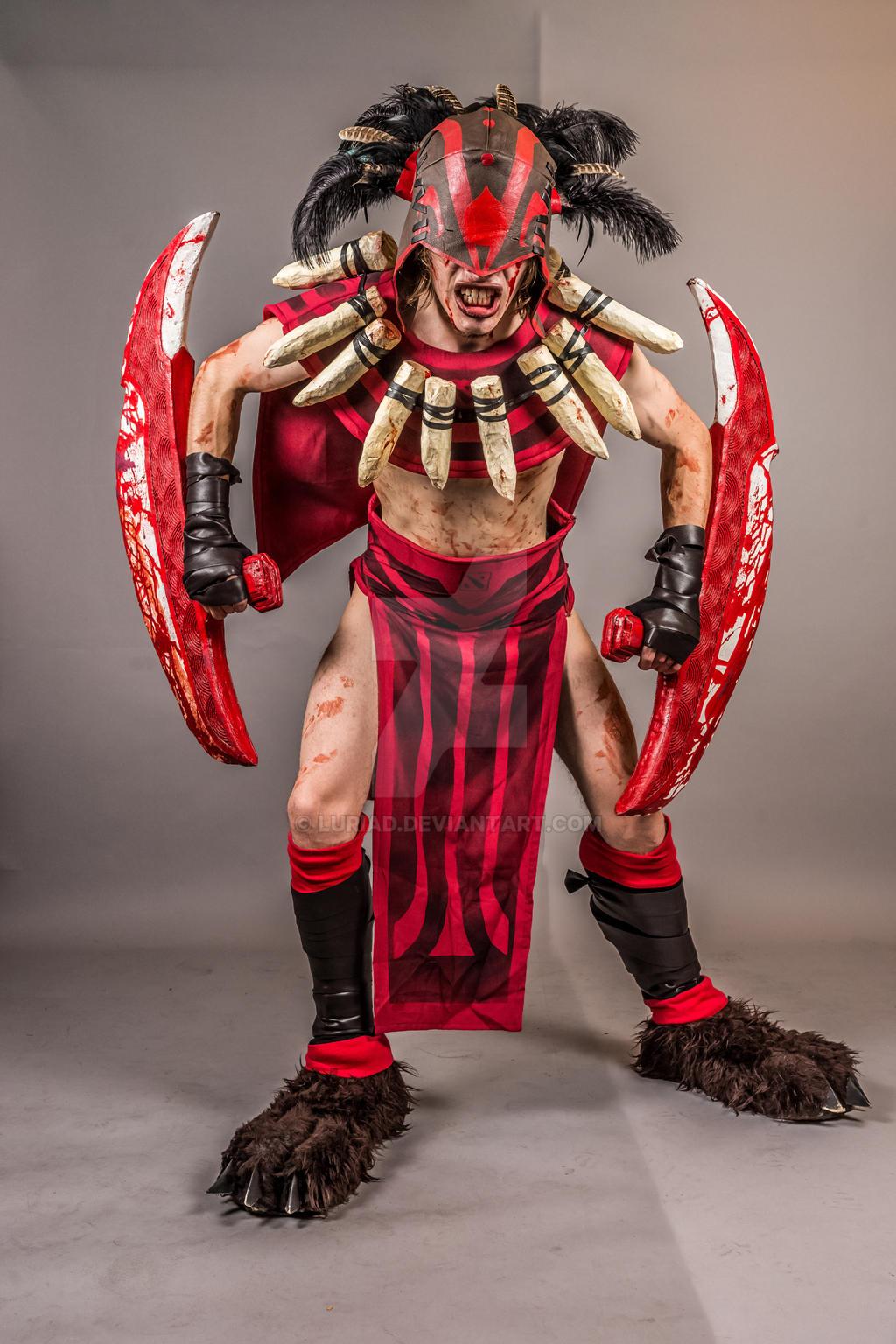 dota 2 bloodseeker cosplay by luriad on deviantart