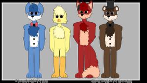 The Fazbear Crew by Team4Dead9001