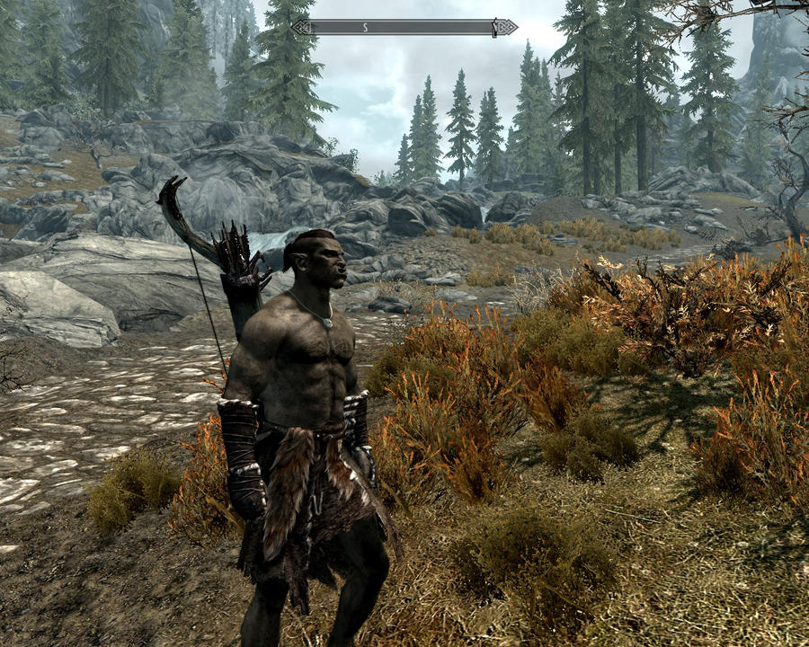 skyrim orc wallpaper - photo #18