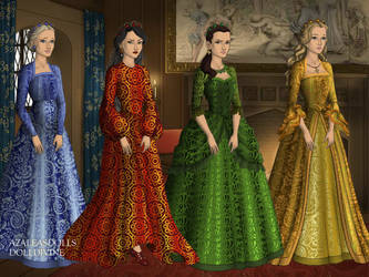 Inner Sailor Scouts In Tudor Times by bre1