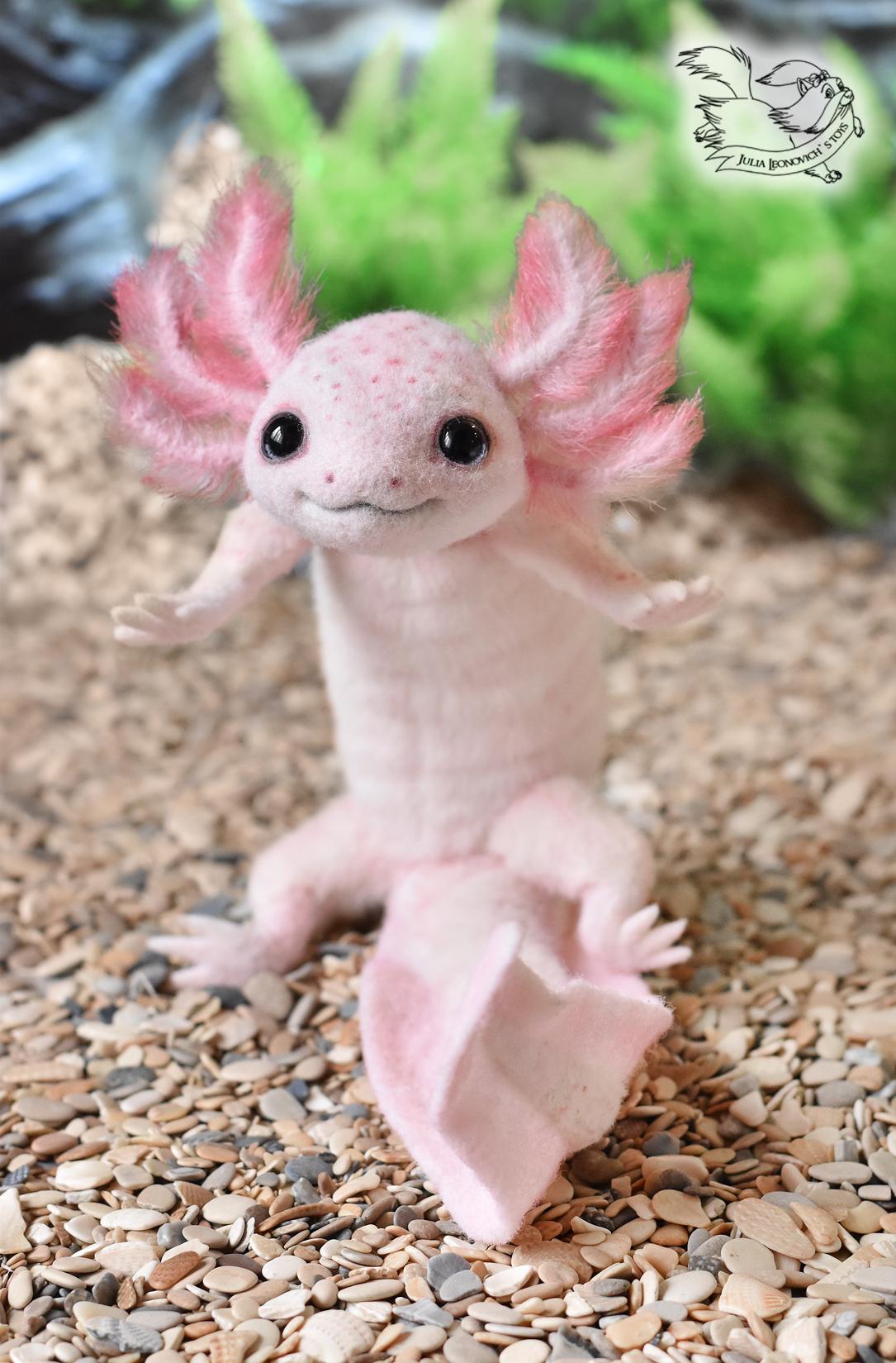 Axolotl Toy (Is Back)