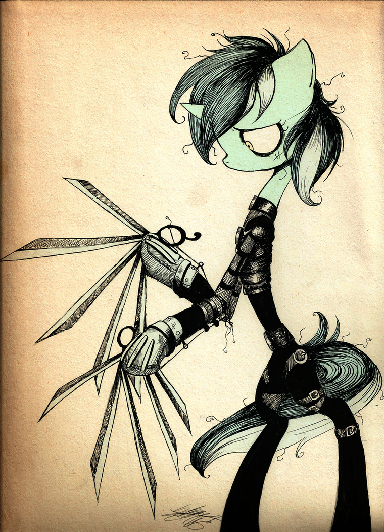 Lyra Scissorhands by Midnameowfries