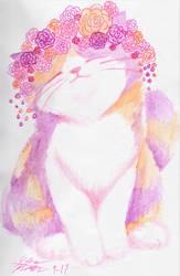 Pastel Tortoiseshell by Midnameowfries