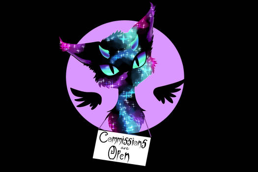 Commissions are (OPEN)