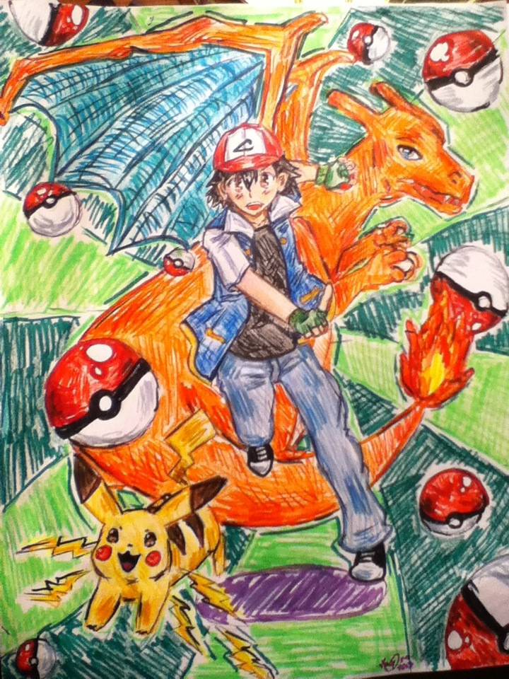 Pokemon~ by ViCat