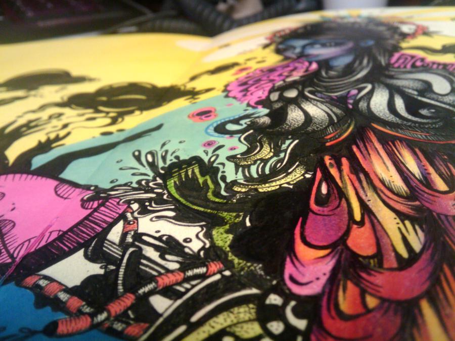 Rebeca Tellez    worx   dailyshit design    sweet rebeca tellez illustrator illustration eps cool ai    ShockBlast