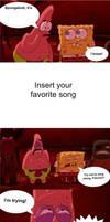 Spongebob and Patrick sing along base