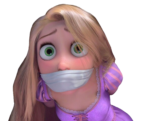 Rapunzel Gagged By Topcatmeeces97 On Deviantart