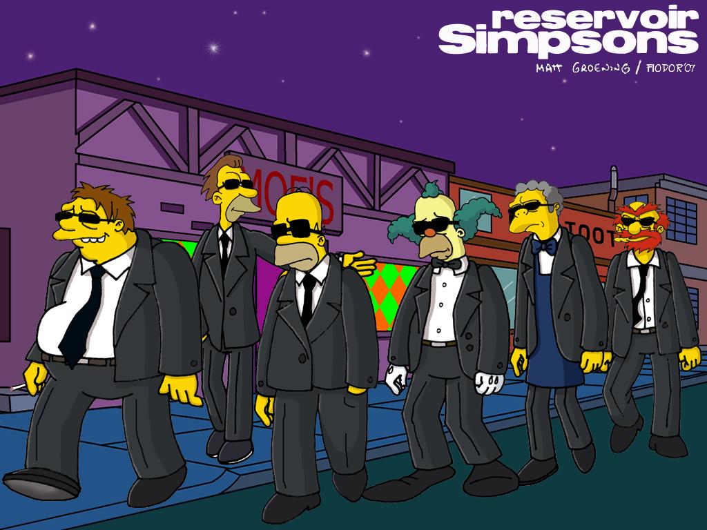 Reservoir Simpsons by elfiodor