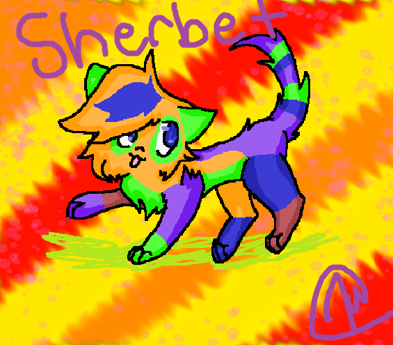 Sherbet by dovepaw3000