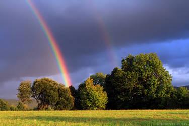 Sunset Rainbows by FlorentCourty