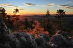 Autumnal Sunrise, Mtlune Rock.