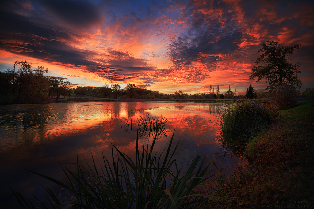 November Sunrise by FlorentCourty