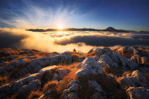 Above the Clouds by FlorentCourty