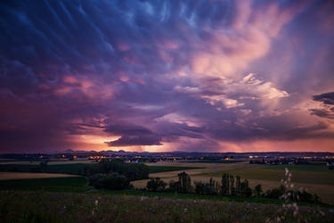 Crepuscular Storm