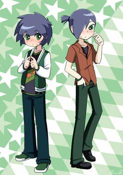 Kaoru x Butch by AlineSM