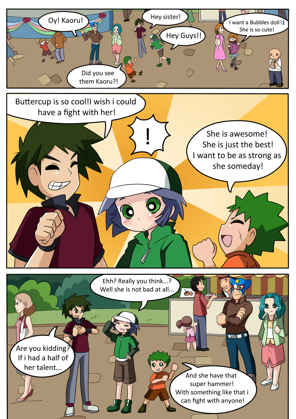 PPGZ - Chapter 1 - Pg. 12 by AlineSM on DeviantArt | 1024 x 1449 jpeg 364kB
