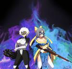 Serpent (Miyabi) and Widow (Yumi): Armed and Ready
