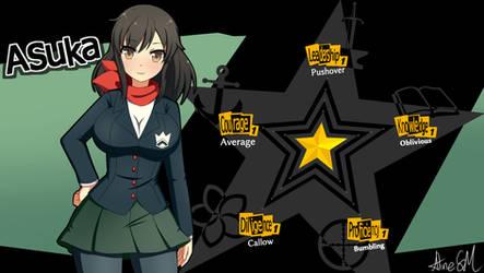 Senran Persona, Asuka Shirokage's Social Stats