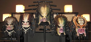 1:1 Scale Predator Heads by PredatrHuntr