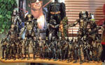NECA Hot Toys and Narin Size Comparisons