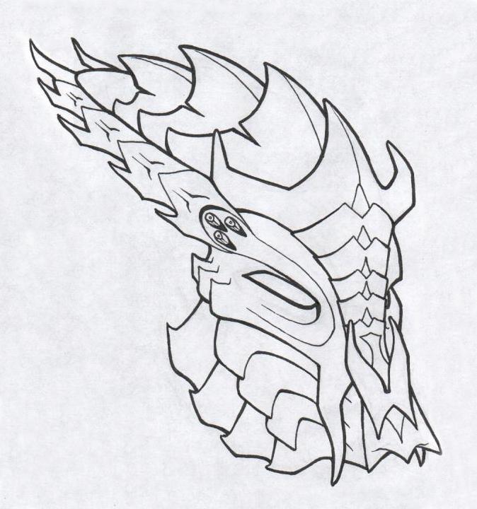 Predator Bio Helmet of Sauron by PredatrHuntr
