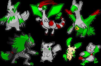 Phenos' Default Pokemon Forms by Joshman14487
