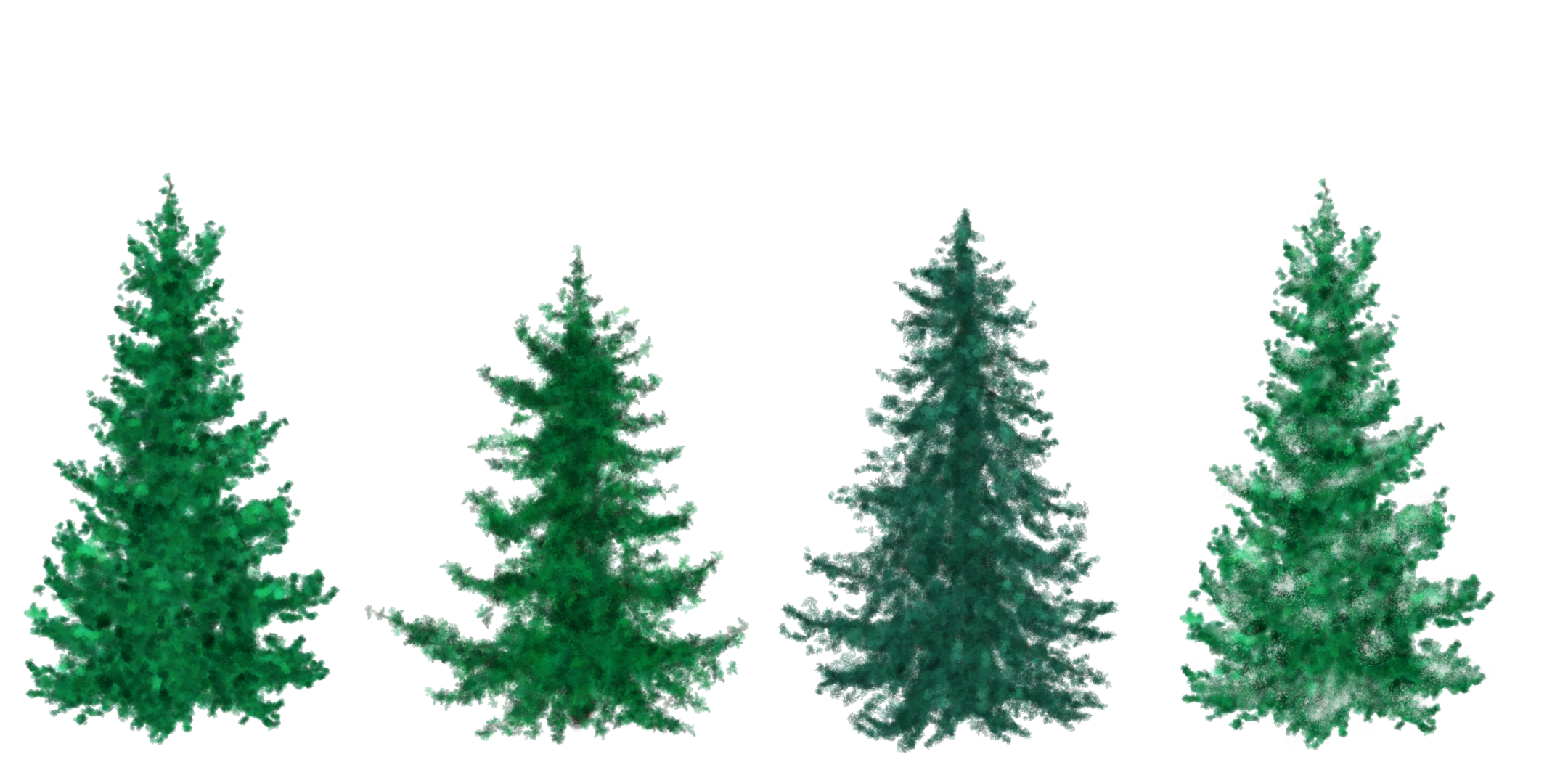 free painted christmas trees by silverbeam free painted christmas trees by silverbeam - Free Christmas Trees