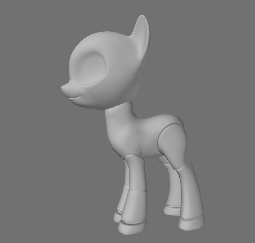 WIP MLP BJD vs2 by silverbeam