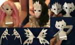 Fairy BJD Dolls WIP by silverbeam