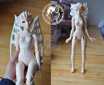 Fairies of Light and dark: 1/4 BJD Preview by silverbeam