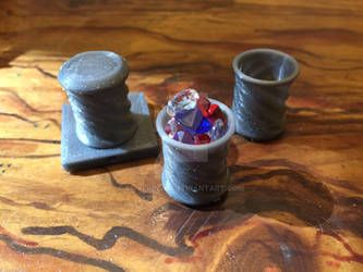 DnD Terrain Props: Treasure Cup by silverbeam