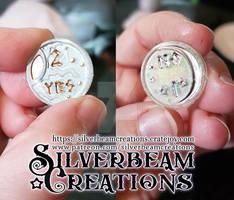 D2 Dice Fantasy Coin