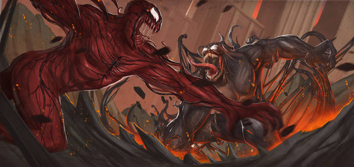 Venom Vs Carnage by global99