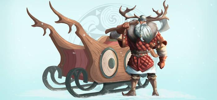 Viking Santa Claus