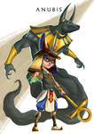 Anubis ( Original Concept By Ling Jun Lin )