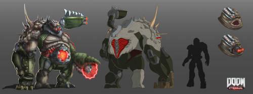 Bonhardi ( Doom Inspired Boss Concept ) by global99