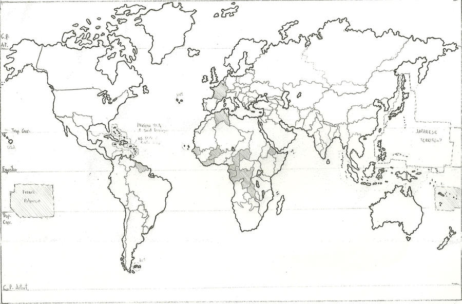 Earth Political Map In AD By EditorElohim On DeviantArt - Earth political map