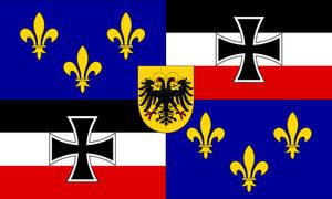 Flag of Franco-Germania
